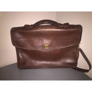 Vtg COACH Lexington messenger bag attaché brown